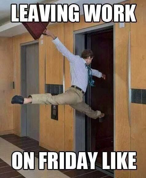 Friday Funny Quotes Winter Humor: 17 Best Ideas About Leaving Work On Friday On Pinterest