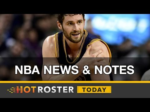 2017 Fantasy Basketball: NBA News & Notes w/ Tommy Beer | HotRoster Today