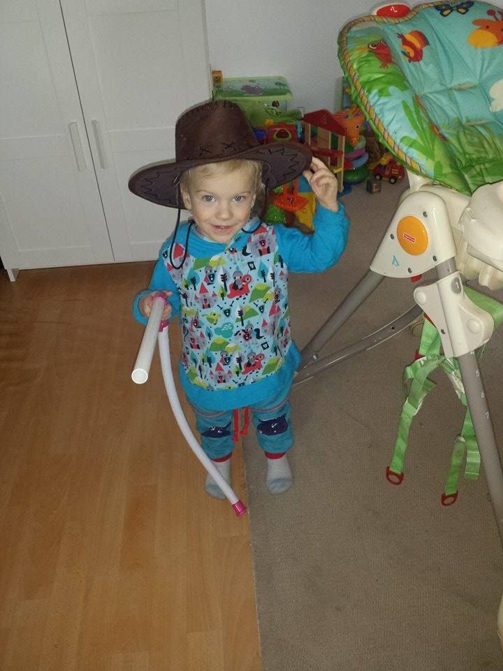 Yiha! kleiner Cowboy <3