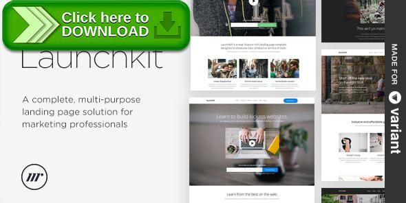 [ThemeForest]Free nulled download Launchkit Landing Page, Variant Builder from http://zippyfile.download/f.php?id=18229 Tags: app landing page, catering, course, fitness, landing page, landing page pack, marketing, multipurpose, one page, page builder, site builder, startup landing page, static site, template, variant