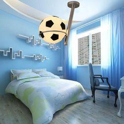 Online Shop современное стекло футбольный мяч футбол лампы потолочный светильник футбол висит свет детей малыша спальня светильники подвеска свет|Aliexpress Mobile