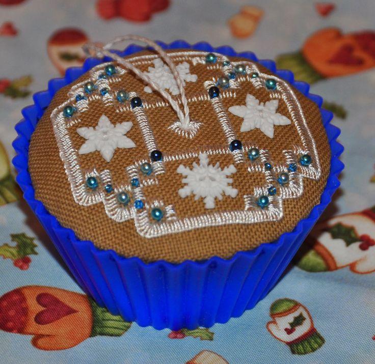 Мой рукодельный рай: Рождественские кексы от Victoria Sampler
