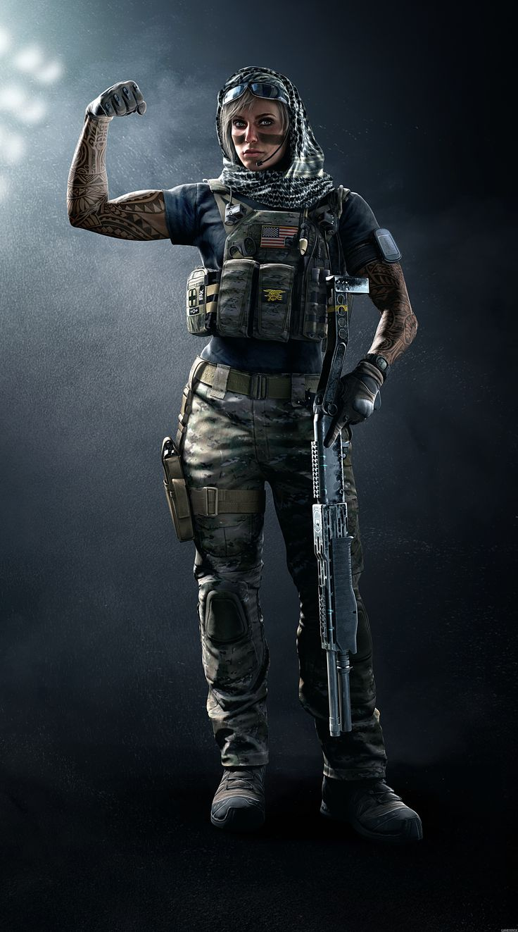Tom Clancy's Rainbow Six Siege New Dust Line Operation Navy Seal Valkyrie
