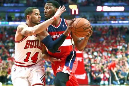 Wizards vs. Bulls: Game 5 Score and Twitter Reaction from 2014 NBA Playoffs