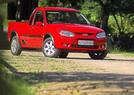 The uniquely South African Ford Bantam 2009-2011.  Ford's Bantam bakkie range was subtly revised and boosted with the introduction of turbo-diesel power to extend the range in 2009. Interior changes were primarily cosmetic. Ford discontinued the Bantam in 2011, with no immediate replacement. Last Bantam ever built left the production line at 11:50, 17 November 2011, at the Ford plant in South Africa. It was a Bantam 1.3I XL A/C Colorado, Red Job, Number RRB07972.