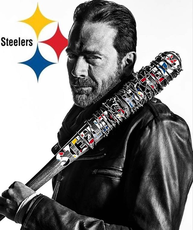 #love it  #steal it  credit repost◾️@steelerscougars It's a courtesy❤️I edit or created it ➡️tag me for s/o Steelers gear collage⬅️ #steelers #steelersnation #terribletowel #blackandyellow #pittsburghsteelers #steelersfootball #steelersfans #gosteelers #negan #walkingdead