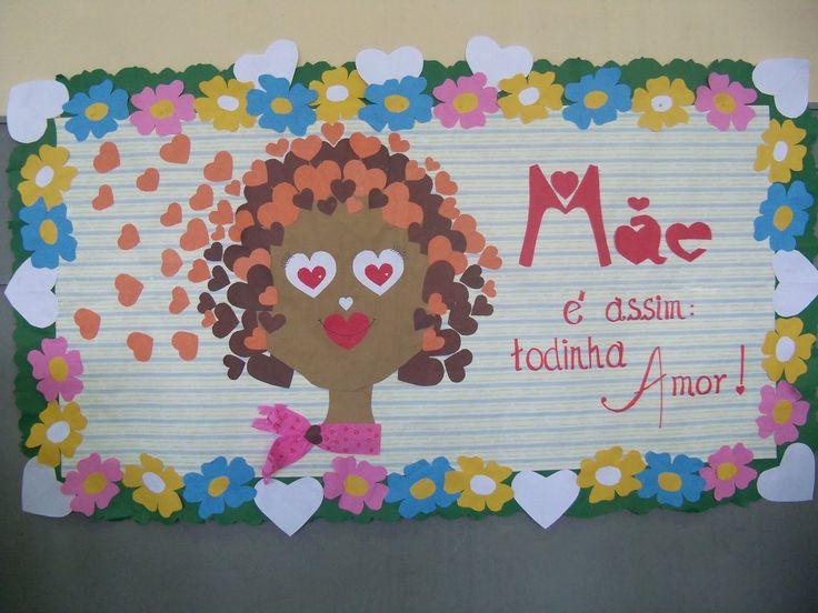 Mural para o dia das mães: 50 ideias