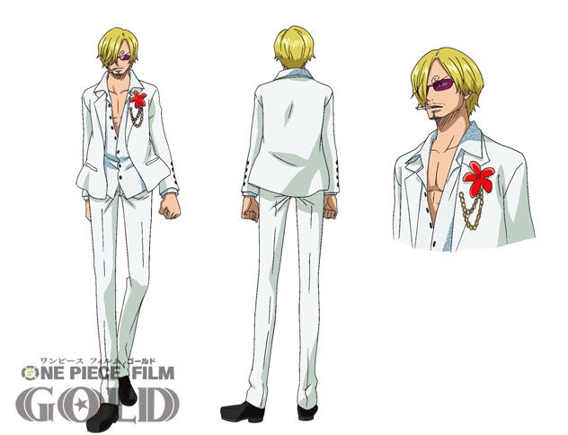 One Piece Film Gold, Sanji