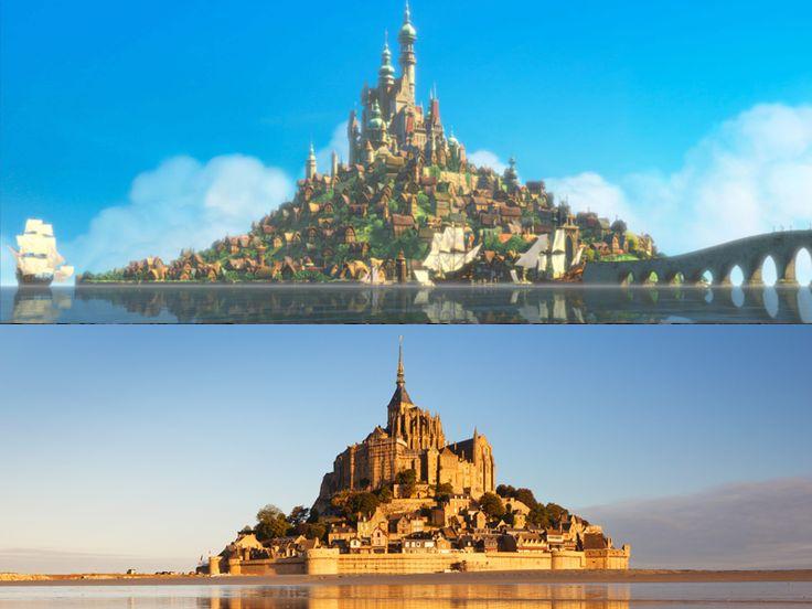 Lugares reais que inspiraram filmes da Disney