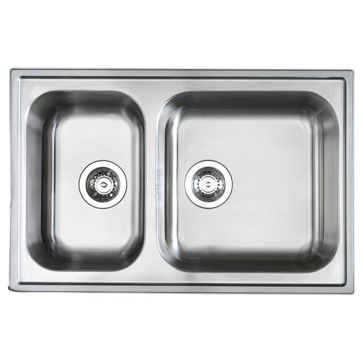 Boholmen Double Bowl Inset Sink Ikea Can Be Undermounted Kitchen Ideas Pinterest Sinks