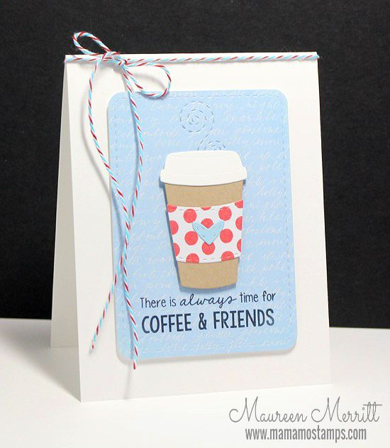 Mama Mo Stamps: Coffee Cozy New for 2015!