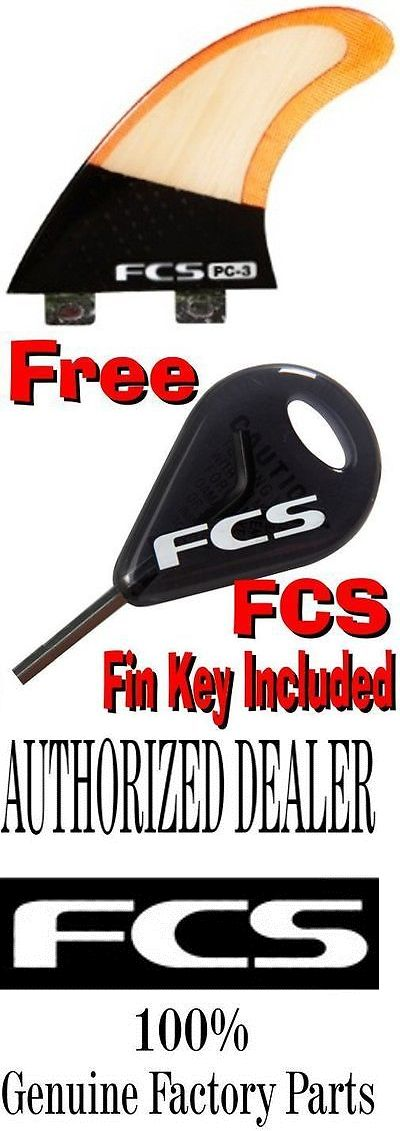 Surfboard Fins 114250: Fcs Pc-3 Bamboo Surfboard 3 Fin Set Performance Core - Brand New Keel -> BUY IT NOW ONLY: $83.99 on eBay!
