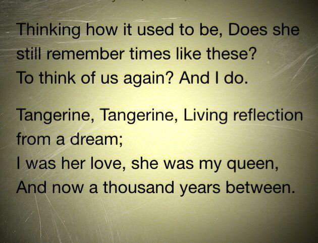 """Led Zeppelin - """"Tangerine"""""""