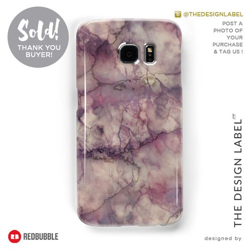 'Marble Art V1' Galaxy Case  Sold! #redbubble #tech #samsunggalaxy
