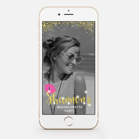 LIMITED TIME Bachelorette Snapchat by JessicaMichaelPrints on Etsy