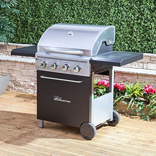Fire Mountain McKinley 4 Burner Gas Barbecue