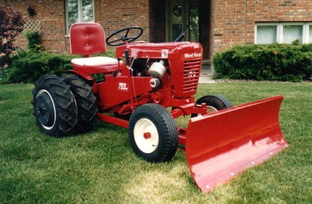205 Best Wheel Horse Tractors Images On Pinterest