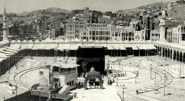 Pin By Ashraf Bayan On Old Pictures Of Makkah Madina Saudi Arabia Zamzam Well Islamic Heritage Masjid