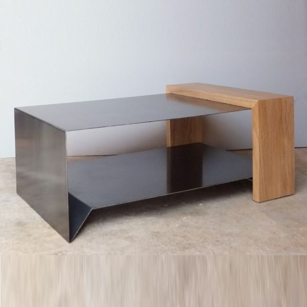 best 20 table basse bois metal ideas on pinterest table