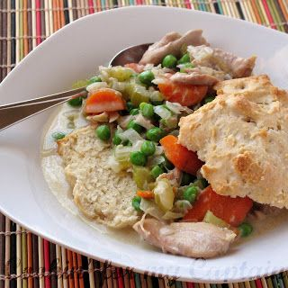 Cookin' for my Captain: Slow-Cooker Creamy Chicken w/ Biscuits | All ...