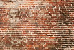 Detailed Old Red Brick Wall Background Texture Stock Photo - Image: 37990360
