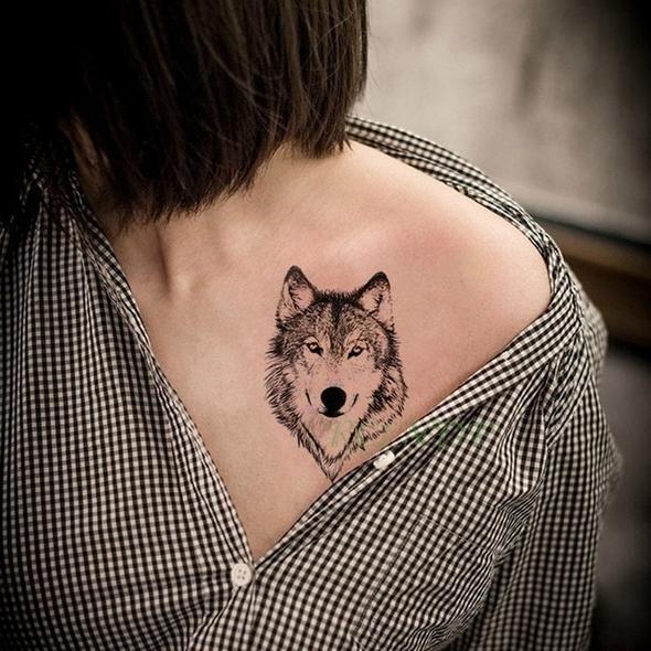 Small Wolf Tattoo Women Small Wolf Tattoo Wolf Tattoos For Women Animal Tattoos