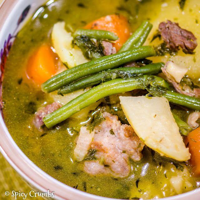 Irská jehněčí dušenina se zeleninou - Irish lamb stew - Spicy Crumbs