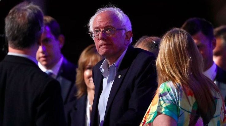 Bernie Sanders gets booed after endorsing Hillary ClintonFormer Democratic presidential candidate Sen. Bernie Sanders of Vermont tours the Wells Fargo Center during the first day of the Democratic National Convention in Philadelphia Monday July 25 2016. Image: AP Photo/Paul Sancya By Marcus Gilmer2016-07-25 19:45:10 UTC Ahead of the start of the Democratic National Convention Bernie Sanders held court in Philadelphia before a large group of supporters in an appearance that showed the p...