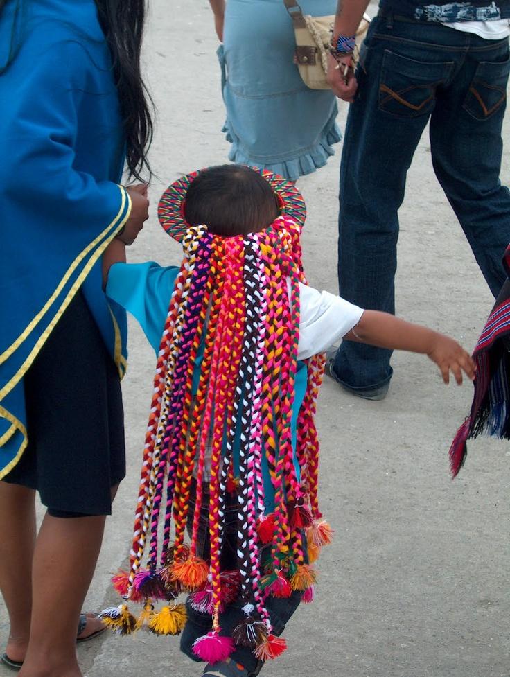 Vestidos típicos en la Fiesta del perdón en Sibundoy - Putumayo - Colombia