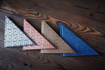 Блокноты и только :0): Треугольные блокноты
