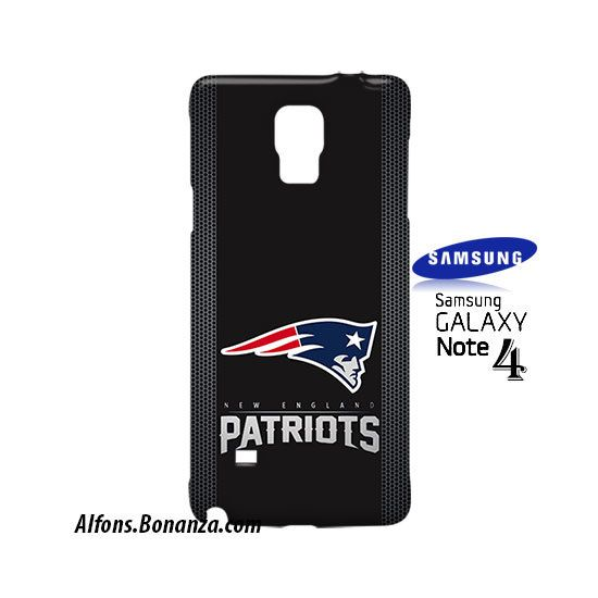 New England Patriots Custom Samsung Galaxy Note 4 Hardshell Case