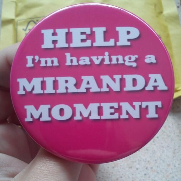 This is epic! I want one ;) i love miranda as you can tell