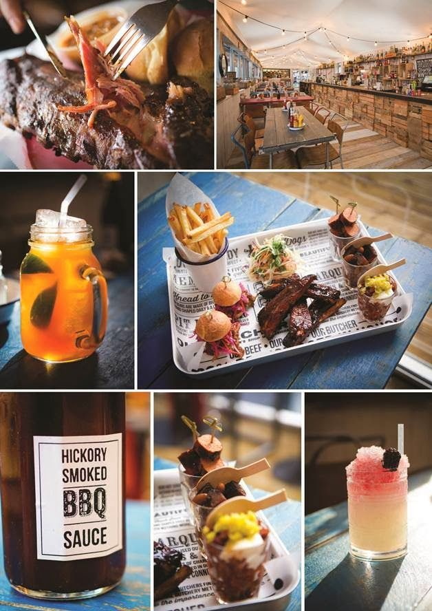 Pop up BBQ Restaurant at Liverpool Street Ice Rink - till Feb
