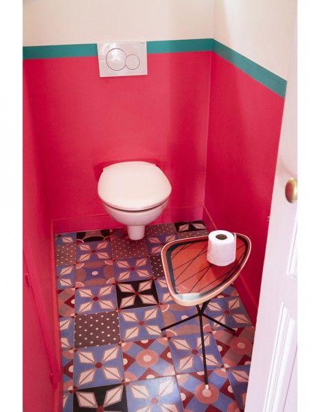 Super sol de toilettes!