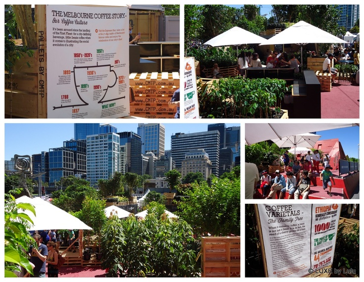 Melbourne Food & Wine Festival - Southbank - Urban Coffee Farm #MFWF #MelbourneFoodandWine #food #coffee