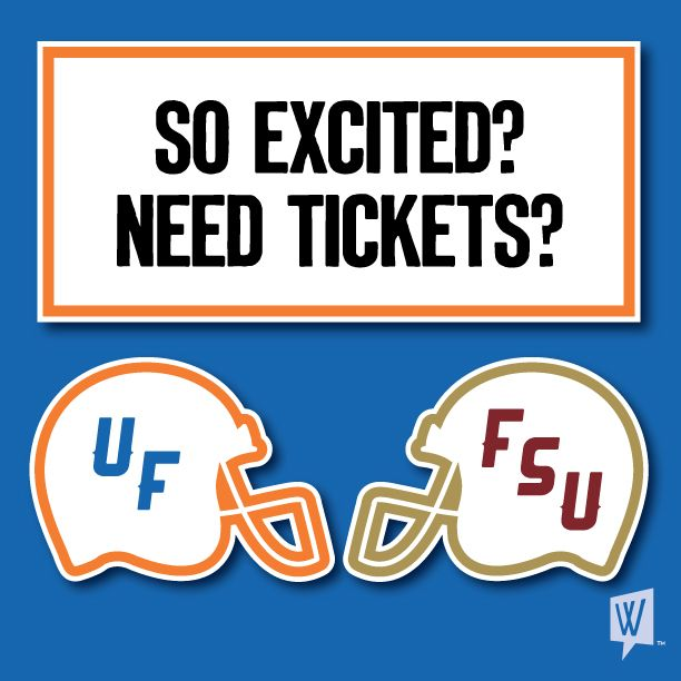 Tell us why it's great to be a Florida Gator for a chance to win two tickets to the Florida vs Florida State game! *Click here.     #itsgreat
