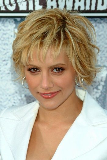Brittany Murphy-Fun and Flirty Layered Bobs-Celebrity Edition