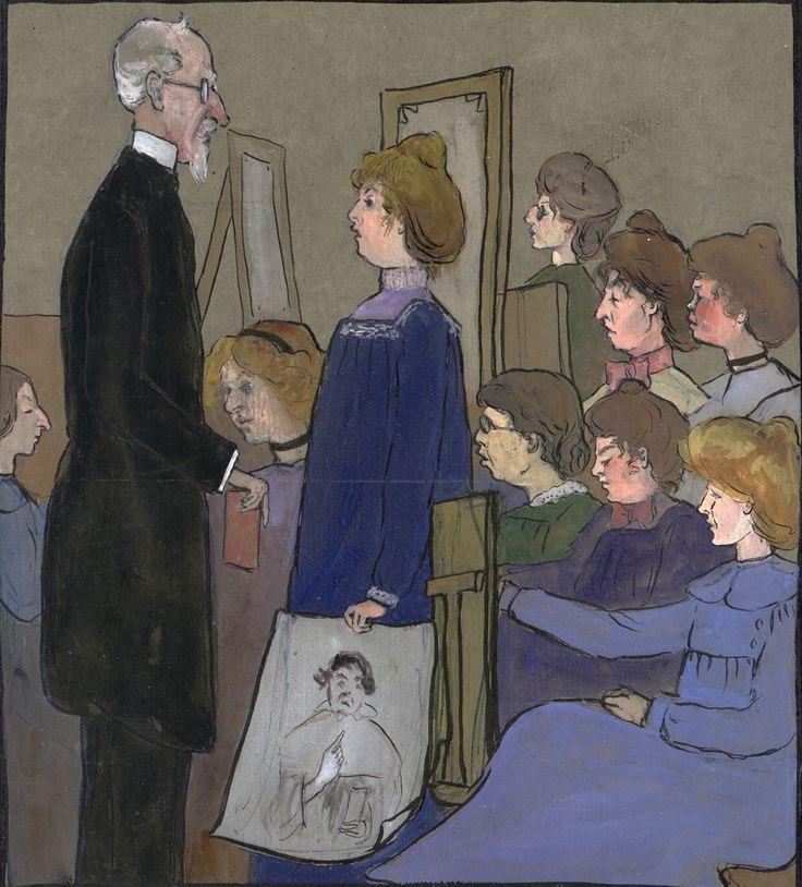 Westminster school of art sketch 1901 06152