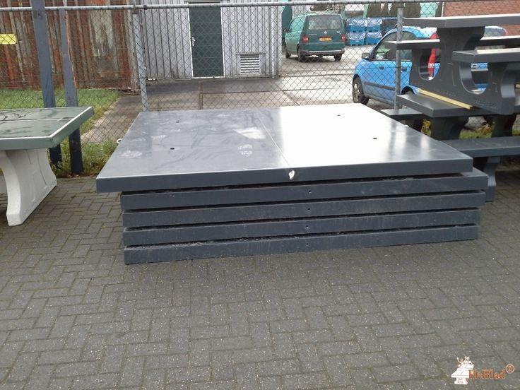 Onderplaat Picknickset Antraciet bij Gemeentewerf in Apeldoorn