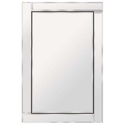 bathroom wall mirrors home depot glacier bay brazin 31 in x 24 in wall mirror 900240 22577