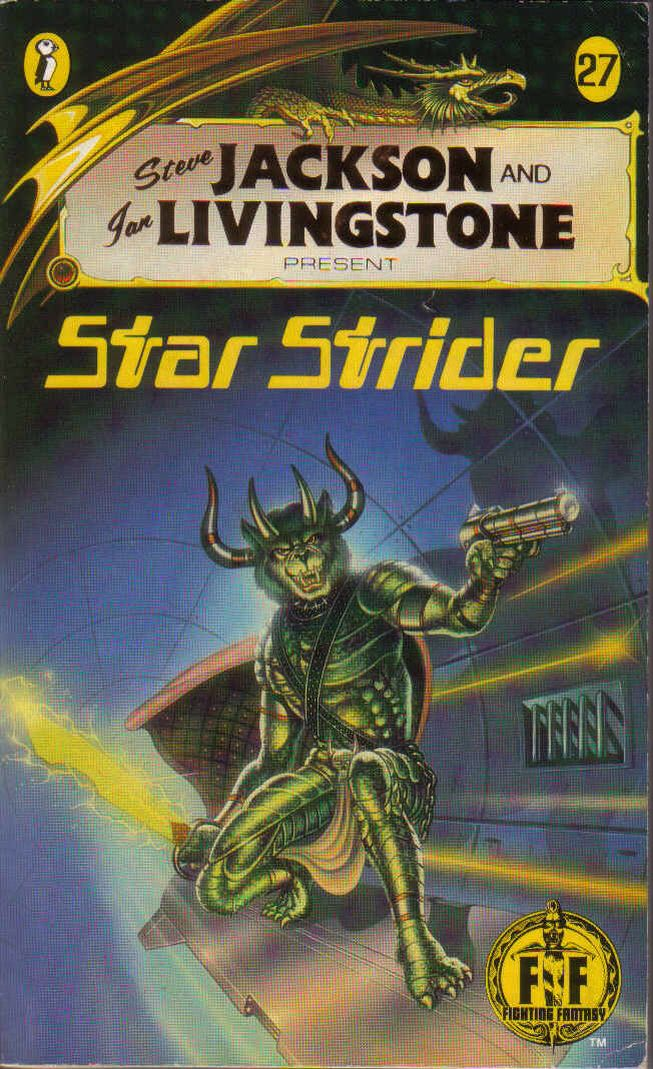 Star Strider, Fighting Fantasy gamebook #27.