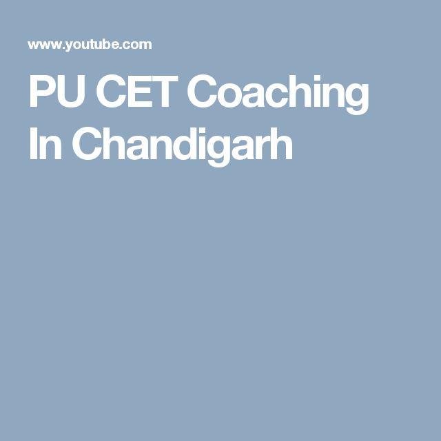 PU CET Coaching In Chandigarh