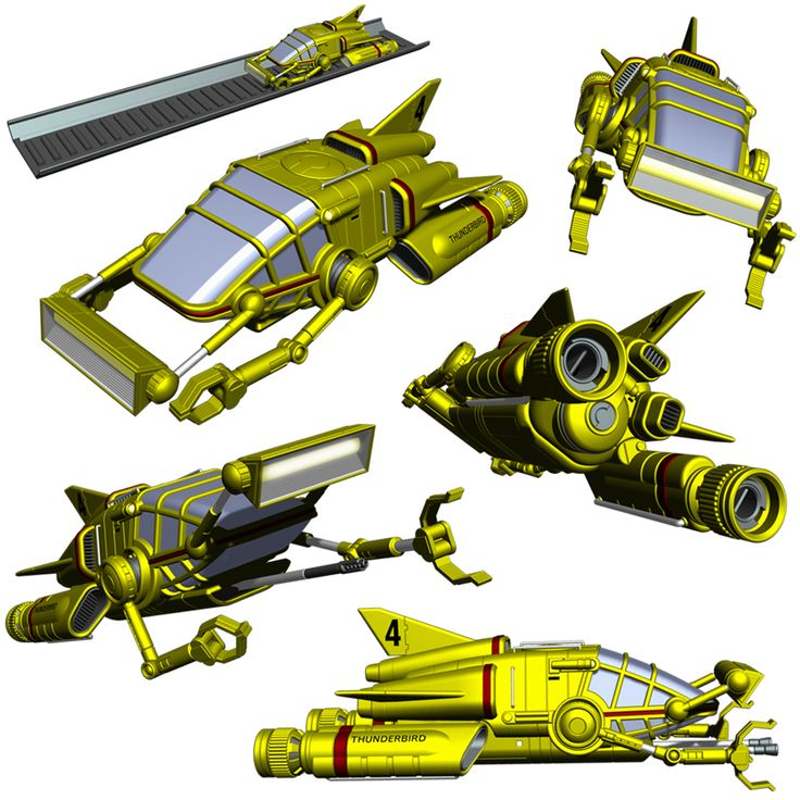 Thunderbird 4 by Librarian-bot.deviantart.com on @deviantART