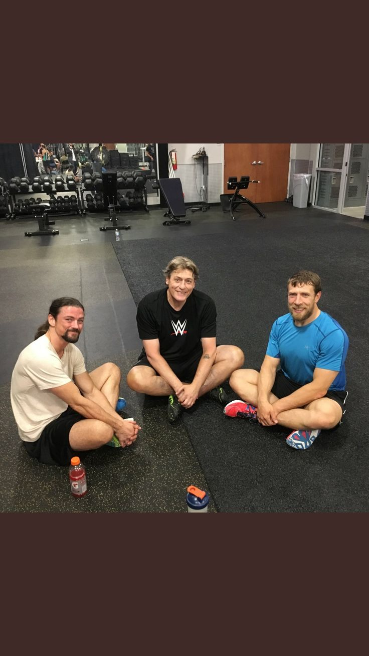The Brian Kendrick, NXT General Manager William Regal & Daniel Bryan