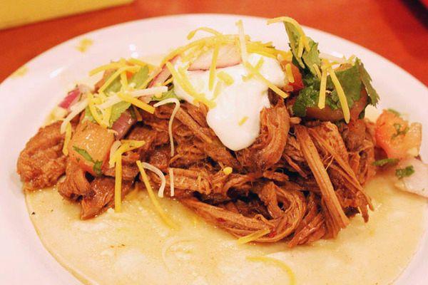 Slow Cooked Beef Barbacoa Tacos