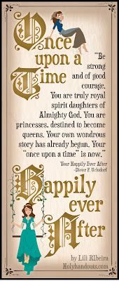 """Different versions of the """"Once Upon a Time"""" quote at holyhandouts.com"""