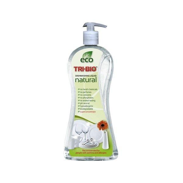 TRI-BIO Натуральная эко-жидкость для мытья посуды 940мл