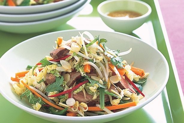 Asian-style duck salad | Recipes to try | Pinterest