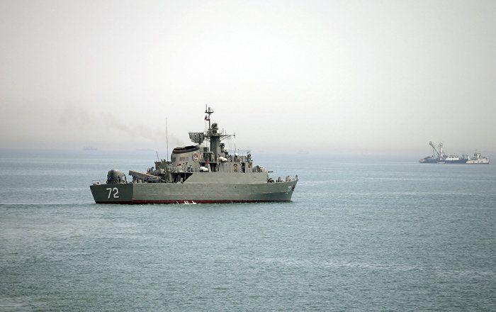 Sputnik Türkiye ///  ABD, İran gemisinin helikoptere lazerle nişan almasını kınadı