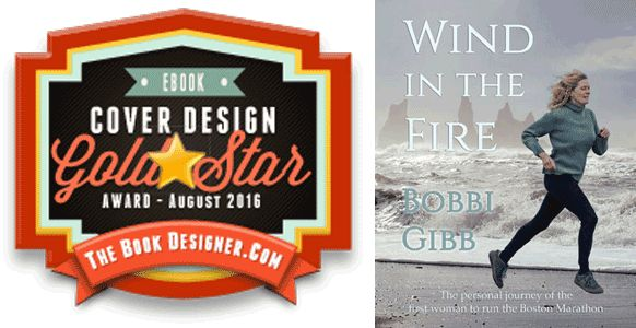 My cover design for Bobbi Gibb's Wind in the Fire has won a Gold Star Award in The Book Designer's e-book cover design contest for August. | 'Wind in the Fire' Cover Design Wins Gold Star Award - Y42K Publishing Services